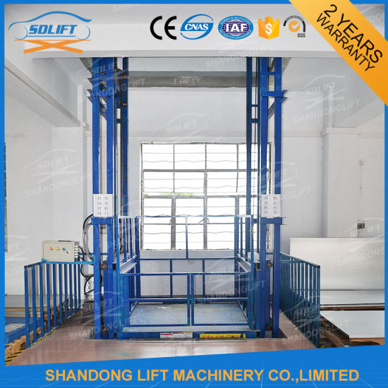 China Wholesale Hydraulic Warehouse Cargo Lift Electric Fixed Freight Elevator pictures & photos