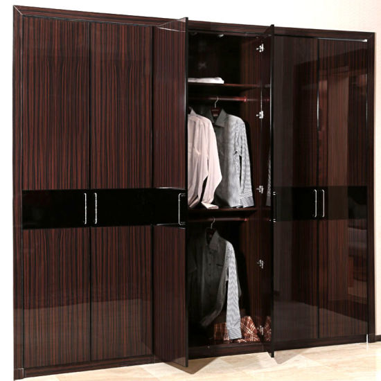 China Guangzhou Manufacturer Wholesale Brown Lacquer 6-Door ...