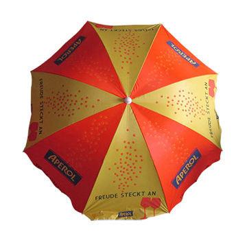 40'' Sun Umbrella, Beach Umbrella with Customized Logo (BR-BU-128)