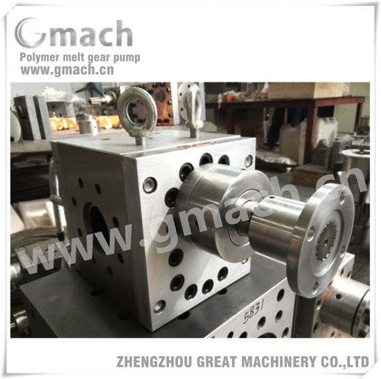 High Pressure Polymer Melt Gear Pump for Extrusion Line pictures & photos
