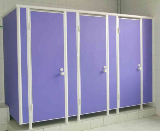 New Design Waterproof Compact Laminate Partition pictures & photos