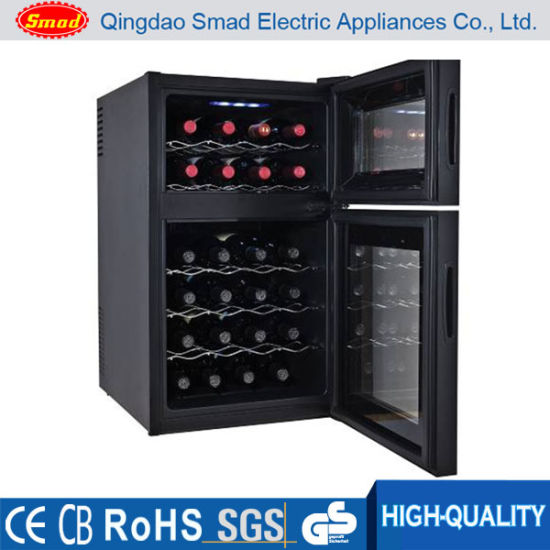 No Noise Auto-Defrost Semi-Conductor Wine Refrigerator pictures & photos
