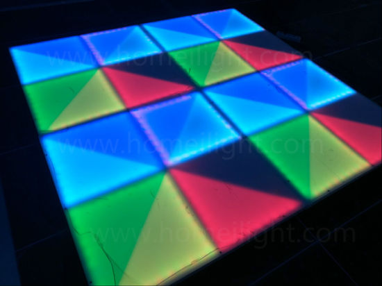 Acrylic Panel RGB LED Dance Floor for Wedding Disco Party Stage Equipment