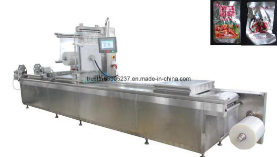 Automatic Thermoforming Pillow Vacuum Food Meat Cheese Rice PCB Powder Cashew Nut Packing Machine