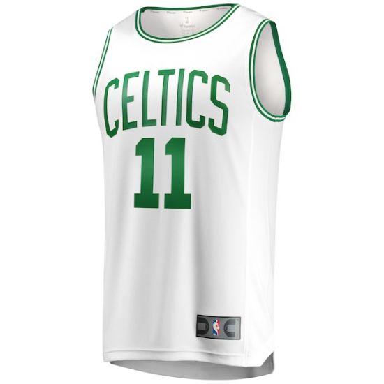 super popular 5dda2 f2f4b Boston Celtics Kyrie Irving #11 Isaiah Thomas #4 Classic Edition Basketball  Jerseys