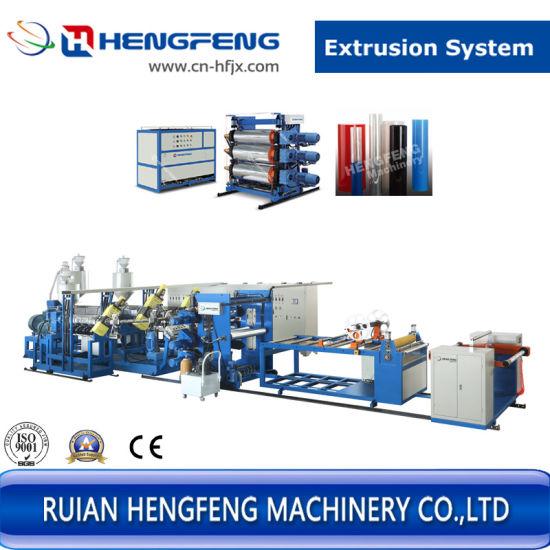 China Plastic Sheet Co-Extrusion Machine Extruder Line - China Co