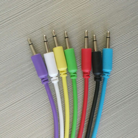 Mini 3.5mm Mono Jack to Jack Audio Cable pictures & photos