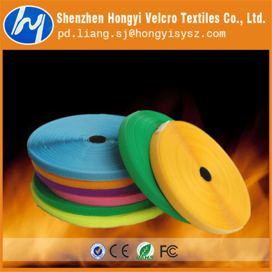 Nylon Durable Flame-Retardant Hook & Loop Fastener Tape pictures & photos