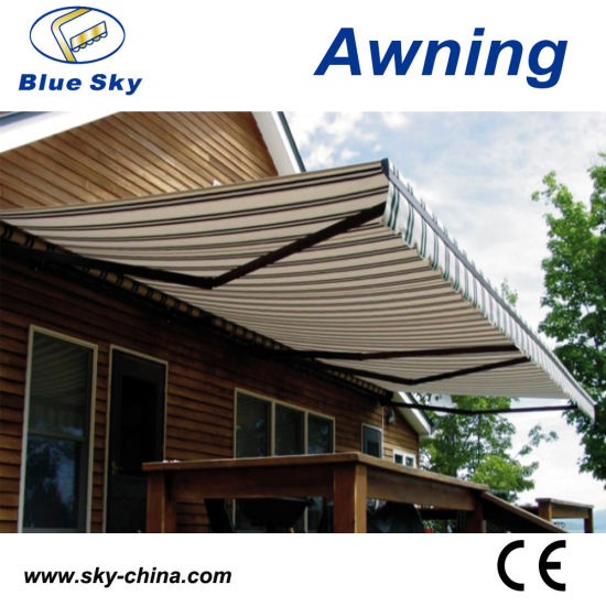 China Prefab Metal Frame Retractable Cassette Awning (B3200) - China ...