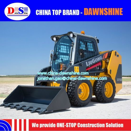 Liugong 375 China New Mini Skid Steer Loader pictures & photos