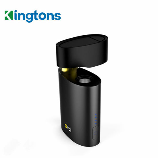 Kingtons 1600mAh Herb Electronic Cigarette/Oval Dry Herb Vaporizer for Sale pictures & photos