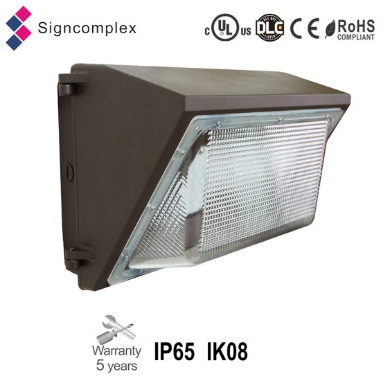 Ik08 IP65 45W 70W 100W LED Wall Pack Light with UL Dlc Ce RoHS pictures & photos