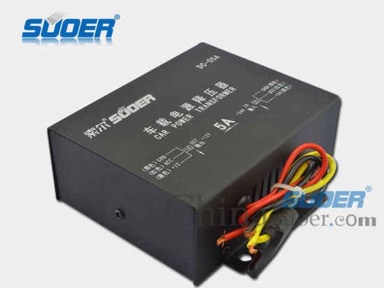 Car Power Transformer DC 24V to 12V Power Supply Transformer (DC-05A) pictures & photos