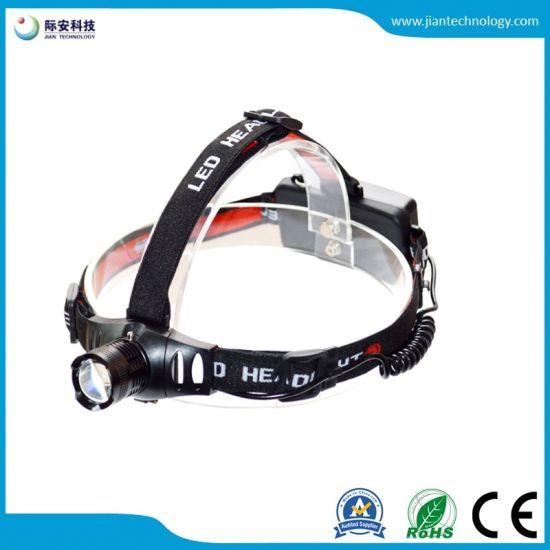 Jfh04b CREE Q5 Aluminum AAA 18650 Mini Headlamp