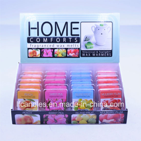 2.5 Oz Colorful and Scented Wax Cubes/Melts/Tarts with More Than 1000 Kinds of Frangrances pictures & photos