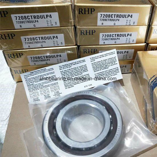 Bearing Original Rhp 7208ctrdul Angular Contact Ball Bearing