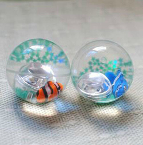 New Design Rubber Soft Crystal Toy Ball