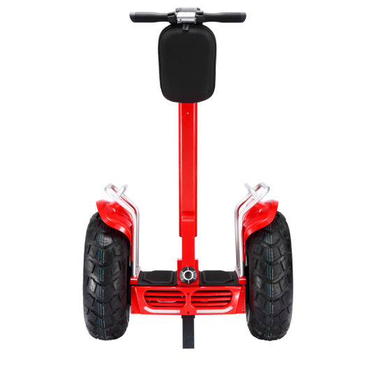 Self Balancing Electric Scooter Smart Balance 2 Wheels With Handle White