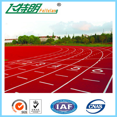 Iaaf Removable Prefabricated Rubber Running Track Surface Material for 400 Meter Standard Stadium Field,