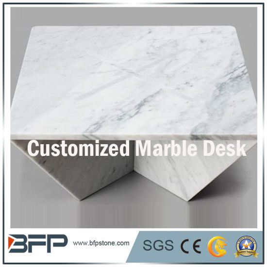 Amazing Customizes Natural White Stone Marble Granite Table Desk Workbench Pdpeps Interior Chair Design Pdpepsorg