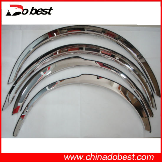 Stainless Steel Car Fender Trim pictures & photos