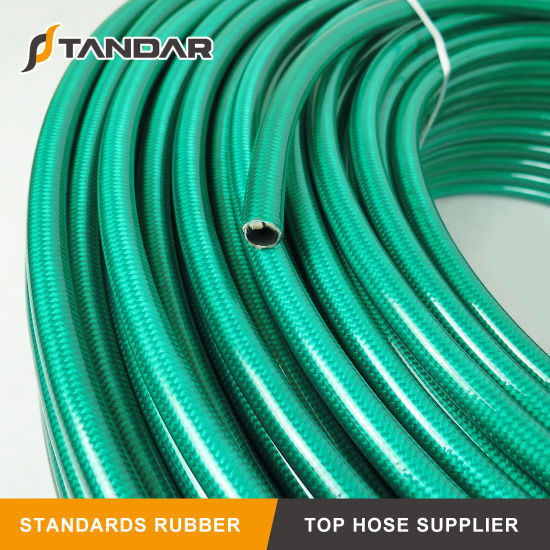 SAE100 R8 Oil Resistant Textile Braid Reinforced Nylon Hydraulic Hose pictures & photos