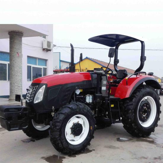 73 5kw/100HP F16+R8 Shuttle Gear Shift Farm Tractor