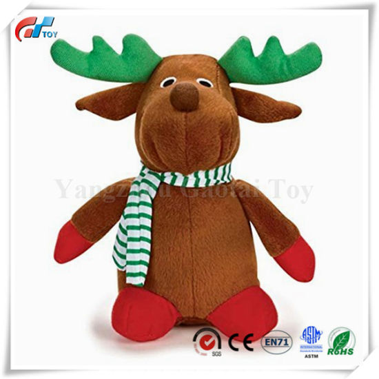 Holiday Friend Reindeer Pet Toy Xmas Toy