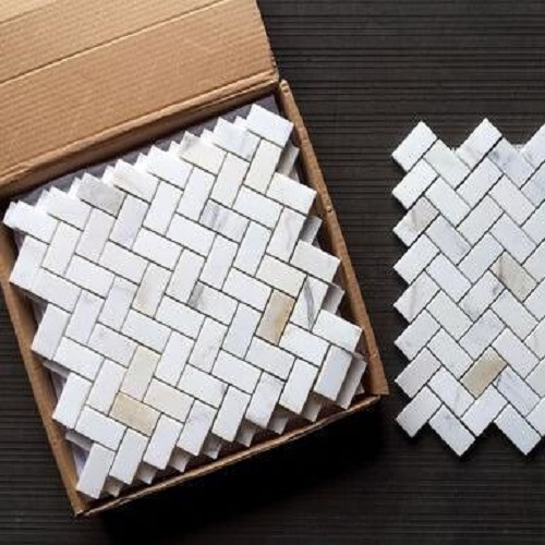 Wholesale Floor Tile White Marble Mosaic Tile