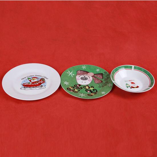 Christmas Plate / Santaclaus Design Tableware & China Christmas Plate / Santaclaus Design Tableware - China Table ...