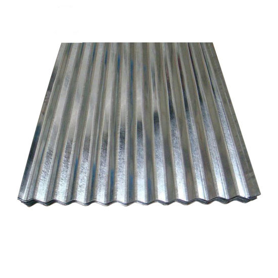 Z30g Full Hard Zinc Coated Galvanized Corrugated Sheet Roofing Materials