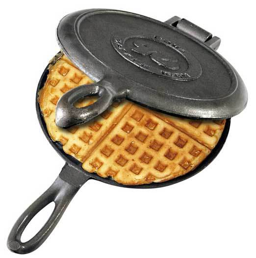 Old Fashioned Cast Iron Waffle Maker