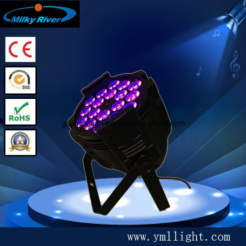 18*10W RGBW 4in1/5in1/6in1 High Power PAR Can LED PAR Light pictures & photos