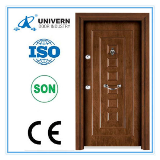 Steel Wood Armored Outside Door pictures & photos