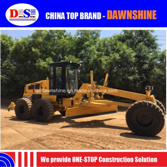 China Motor Grader Price of 220HP Py220c for Sale pictures & photos