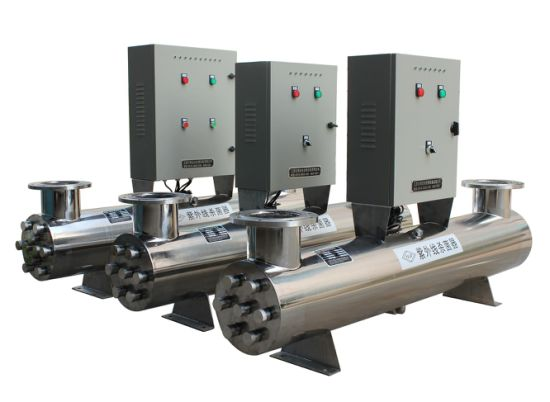 Water Purifying Stainless Steel Housing UV Sterilizer System