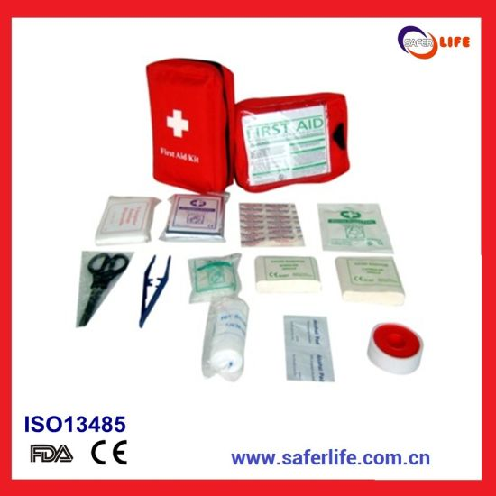 2019 Wholesale Travel Promotional Mini Portable Outdoor First Aid Medical Emergency Pocket Gift Set Kit Bag