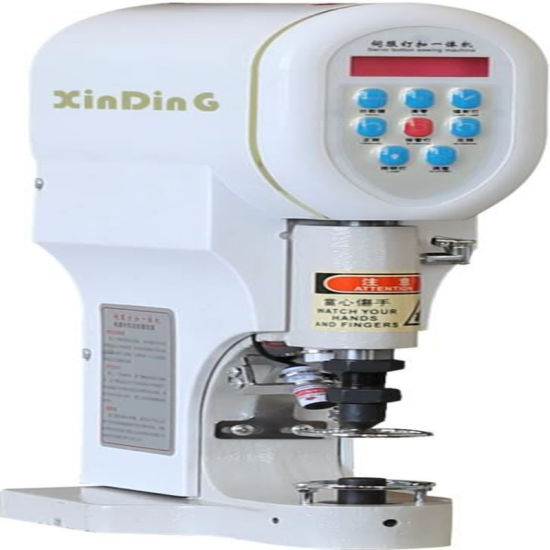 Automatic Cloth Sewing Servo Snap Button Eyelet Jeans Button Fixing Press Drilling Shoe Making Punch Machine