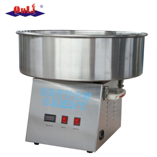 Stainless Steel Electric Candy Floss Maker Cotton Candy Machine for Sale pictures & photos