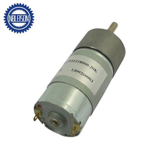 37mm 24V 100rpm DC Gear Motor pictures & photos