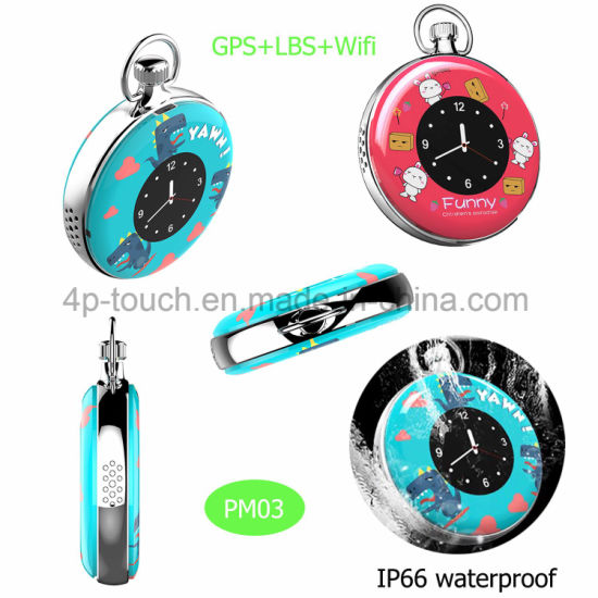 Hot Waterproof Mini GPS Personal Tracker with Time Display Pm03 pictures & photos