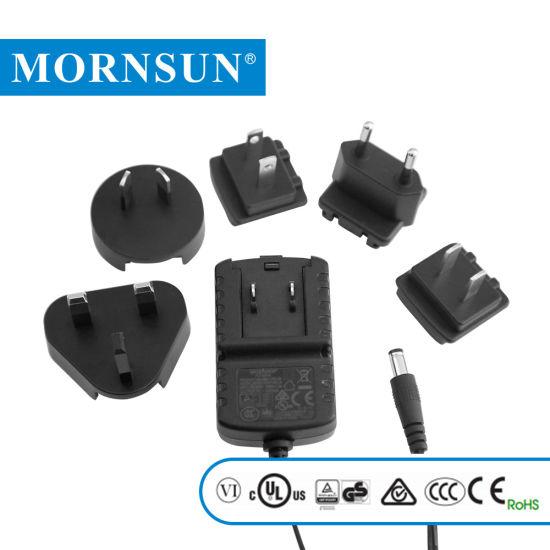 5W 3V/5V/9V/12V/15V Wall-Mounted Type Interchangeable Plug AC/DC Power  Adapter