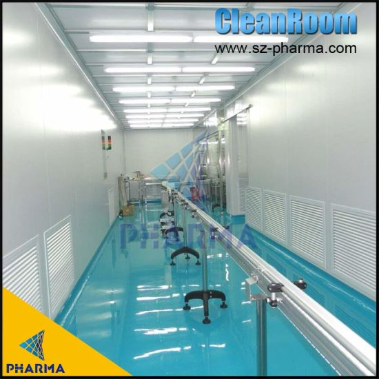 Low Humidity Rotary Desiccant Dehumidifier Modular Cleanroom