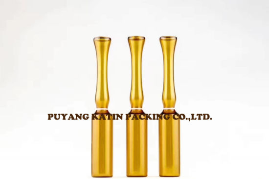 1ml Amber Glass Ampoules for Pharmaceutical Packing pictures & photos