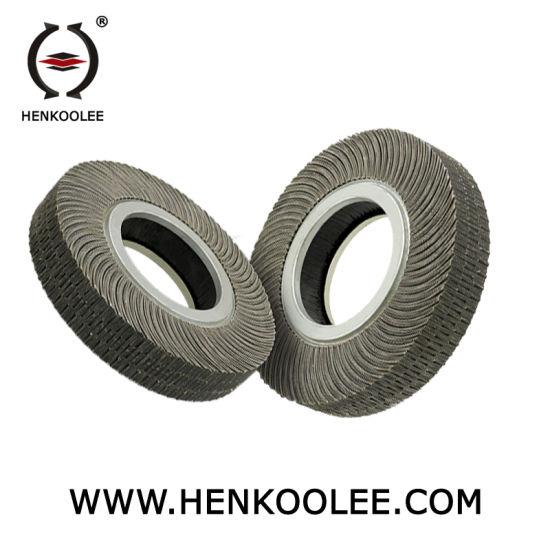Abrasive Cloth Inside Polishing Flap Wheel for Internal Steel Pipe Surface