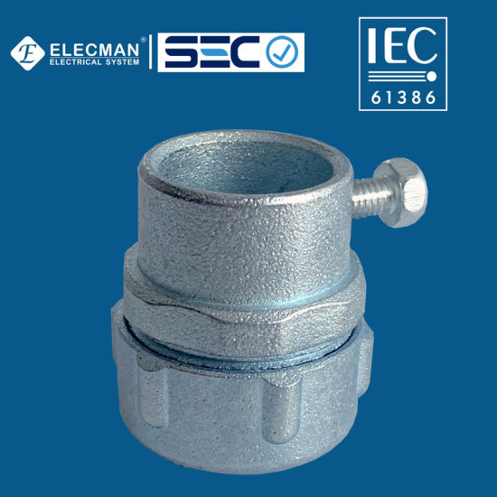 IEC Zinc Liuqid Tight to EMT Connector