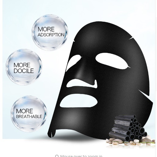 Black Film Tear Type Deep Cleaning Purify Black Head and Shrink Pore Mask Remove Black Head Skin Care