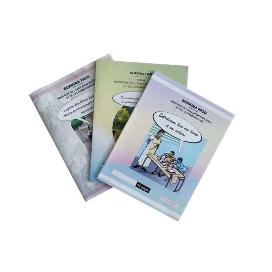 Burkina Faso Student Exercise Book Customized