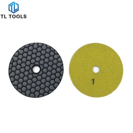 Flexble Diamond Tools Dry Polishing Pads for Marble and Granite pictures & photos