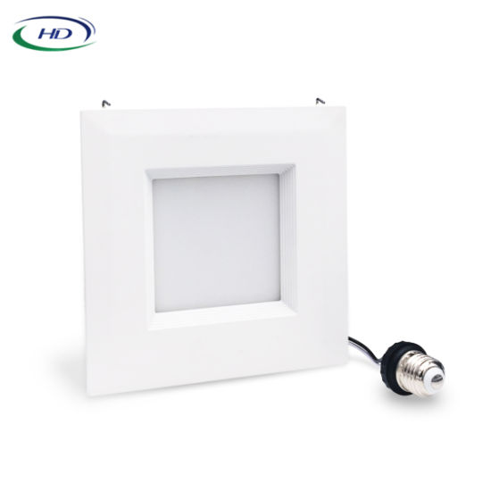 Square 6 Inch 12/15W with ETL/Energy Star Certificate Down Light